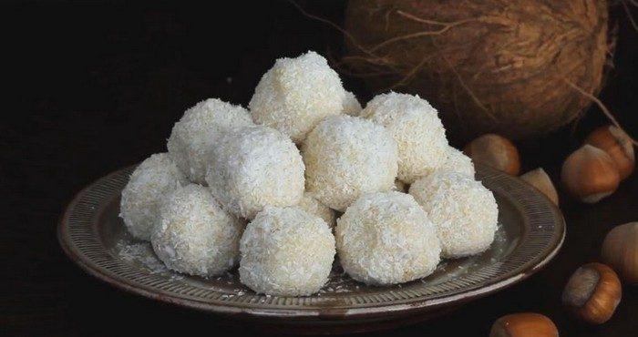 Как сделать конфеты «Рафаэлло» в домашних условиях