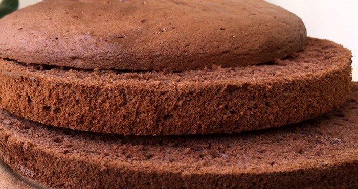 Шоколадный бисквит — десерт с тонким ароматом какао