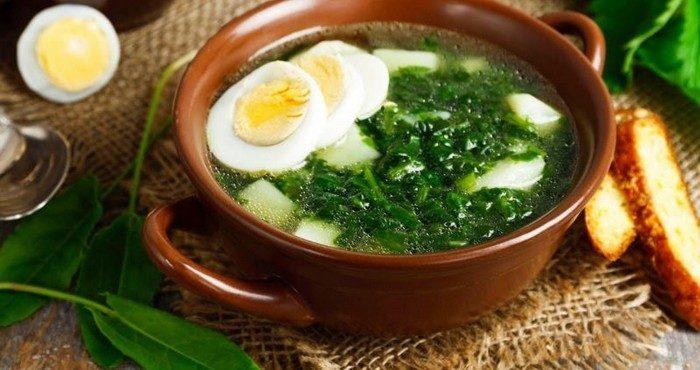 Классические рецепты весеннего супа из щавеля