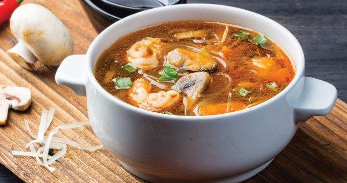 суп из морского коктейля рецепты