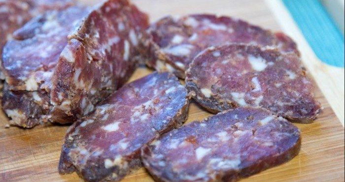 Сыровяленая колбаса рецепт приготовления в домашних условиях 92