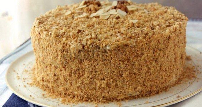 Как просто сделать торт из печенья и сгущенки