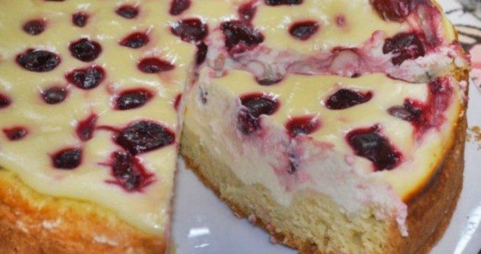 Как приготовить настоящий торт с вишней