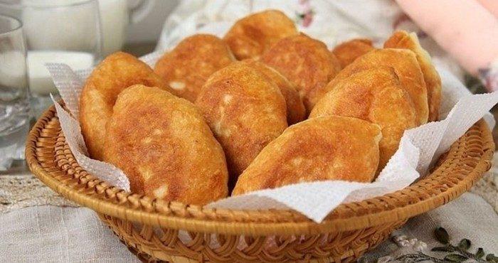 Рецепты жареных пирожков с капустой