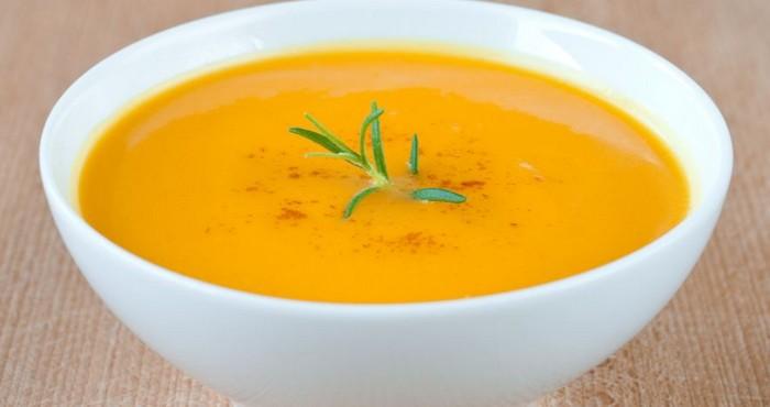 Тыквенный суп пюре со сливками
