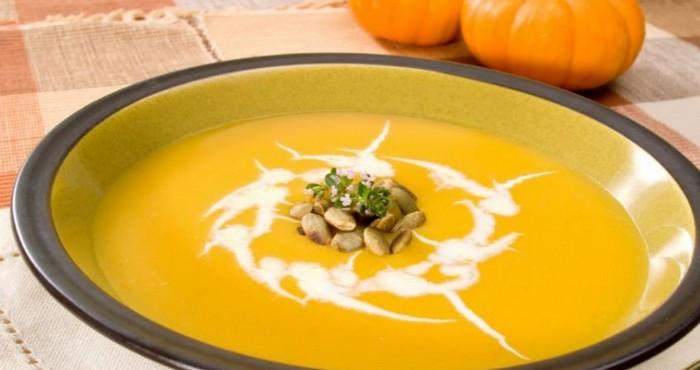 Тыквенный суп пюре по-французски