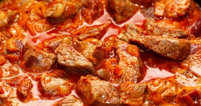 Сколько и как готовить венгерское блюдо