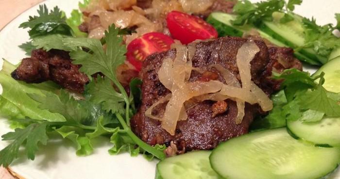 Что можно приготовить из говяжьей печени
