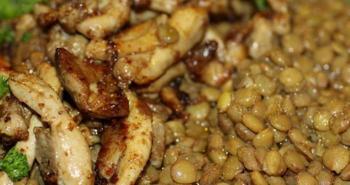 Рецепт с куриным филе