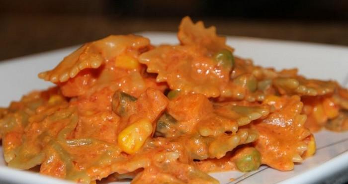 Сливочно-томатный соус для спагетти