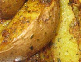 "Картошка ""по-деревенски"" в духовке"
