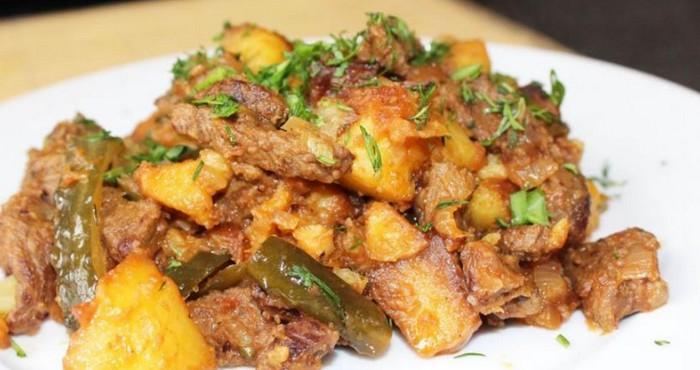 Основные принципы приготовления блюда азу по-татарски