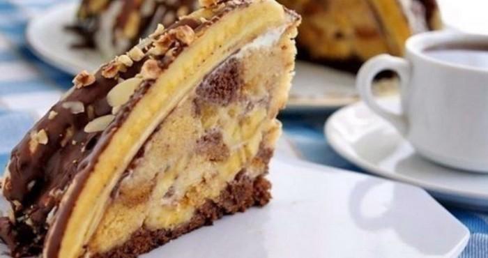 Банановый торт «Панчо»