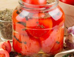 маринад и томаты