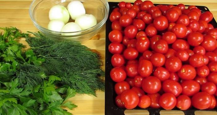 вкусные овощи и зелень