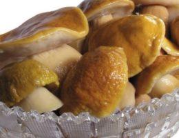 закуска из боровиков