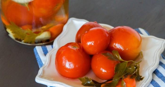 томаты в желе без стерилизации