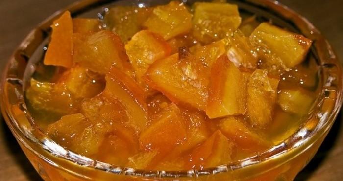 нежный десерт из арбузных корок в домашних условиях