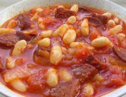 наваристый суп из фасоли