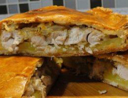 куриный пирог с картофелем