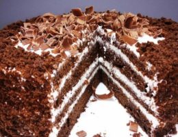 шоколадный торт «Черный принц»