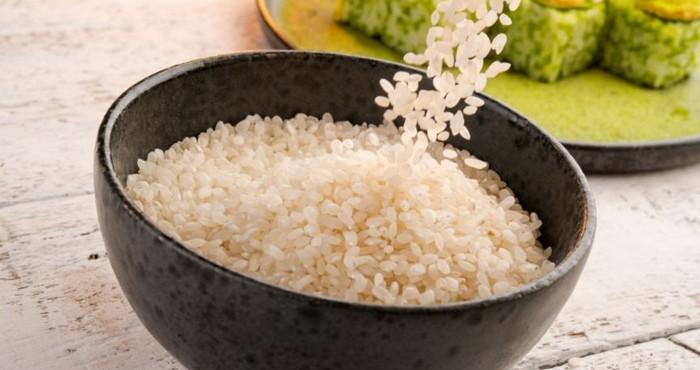 промытый рис для начинки