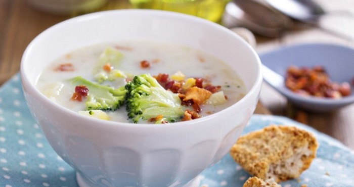 суп-пюре из брокколи для мужчин