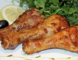 ножки курицы с лимоном