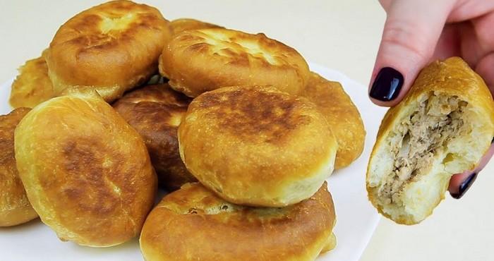 вкусные пирожки с мясом на кефире