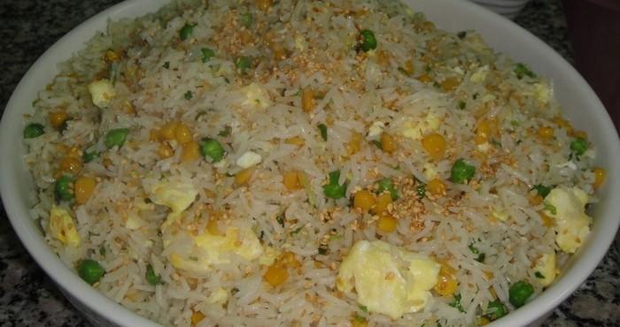 оригинальный рис в азиатском стиле