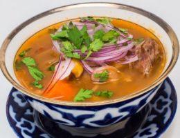 узбекский бараний суп