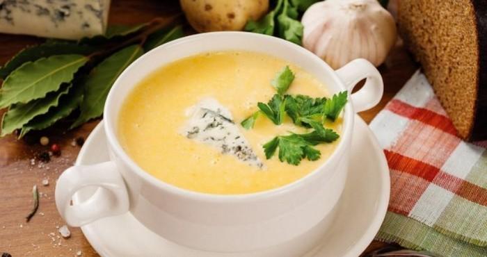 пикантный сливочный крем-суп