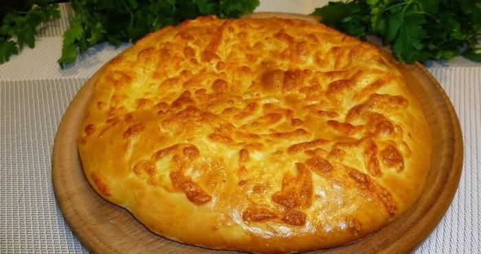 грузинская сырная лепешка
