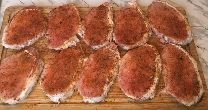 подготовка мясного филе