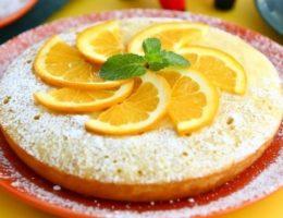 нежная выпечка с апельсином