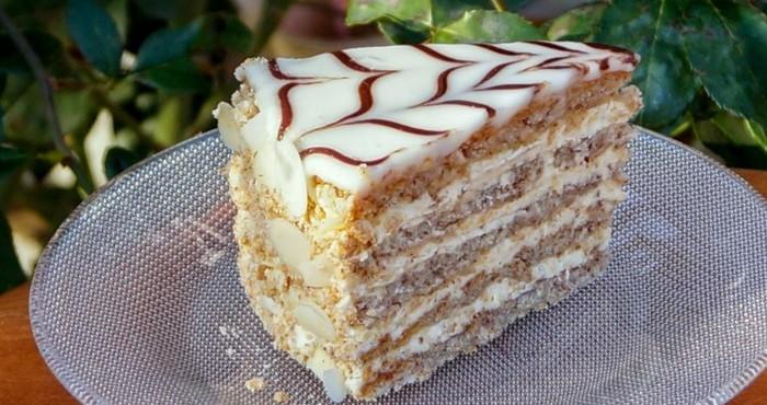 десерт с миндальными орехами