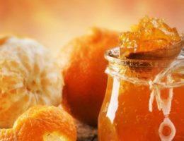 варенье из апельсинов в банке